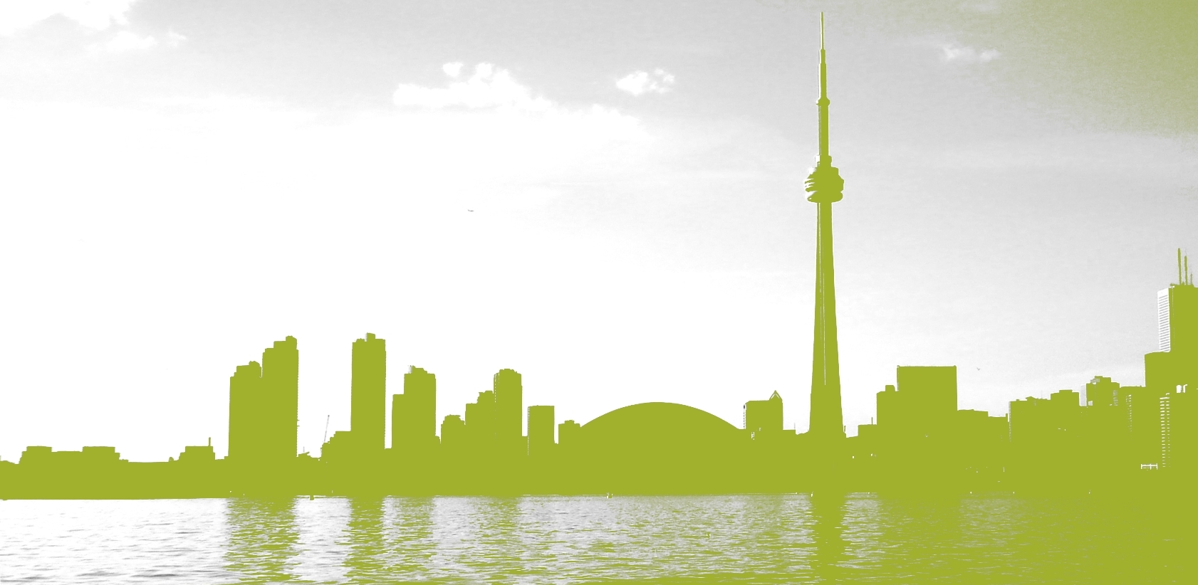 green-skyline