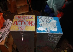 Metal suggestion boxes