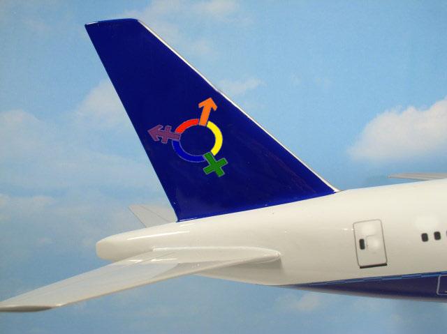 transgender airplane