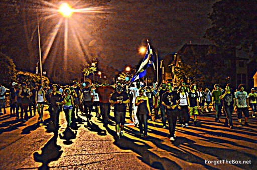 Student protests tuesday may 21, 2012