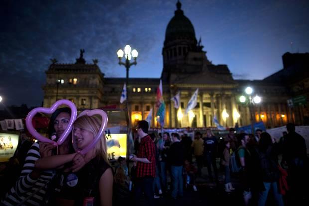 APTOPIX Argentina Gender Identity Law
