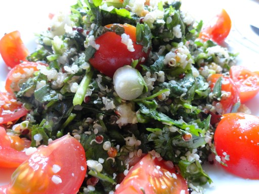 La Mexicana - Tabbouleh with a tasty, fun Mexican twist!