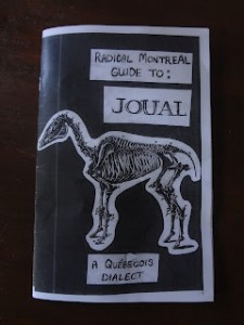 Radical montreal zine