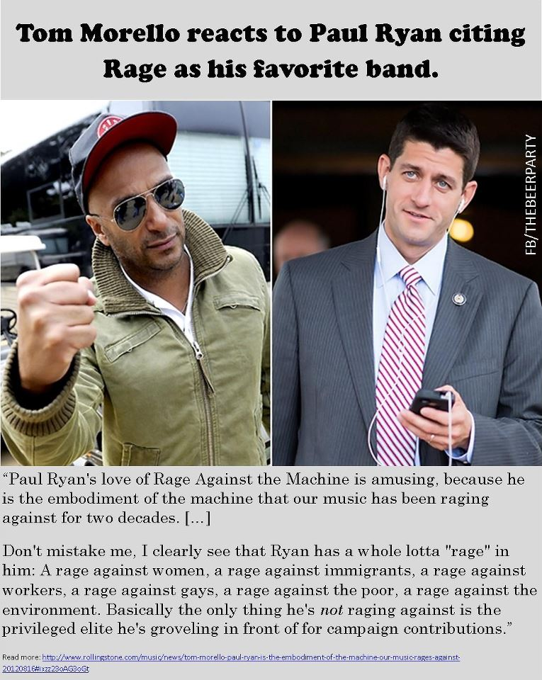 Rage Against Paul Ryan