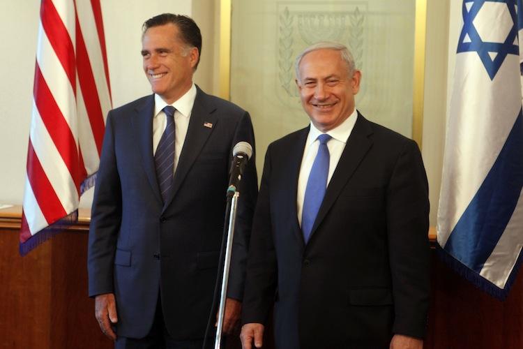 US Republican presidential candidate Mitt Romney Visits Jerusalem