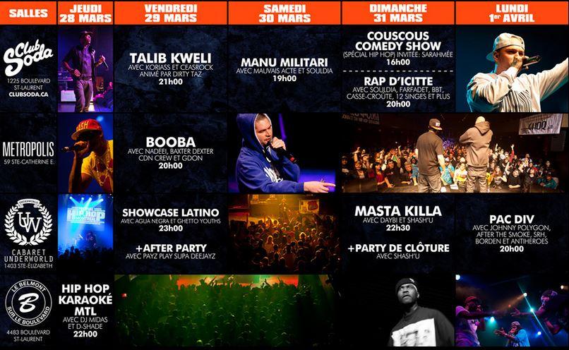 Festival Hip Hop de Montreal