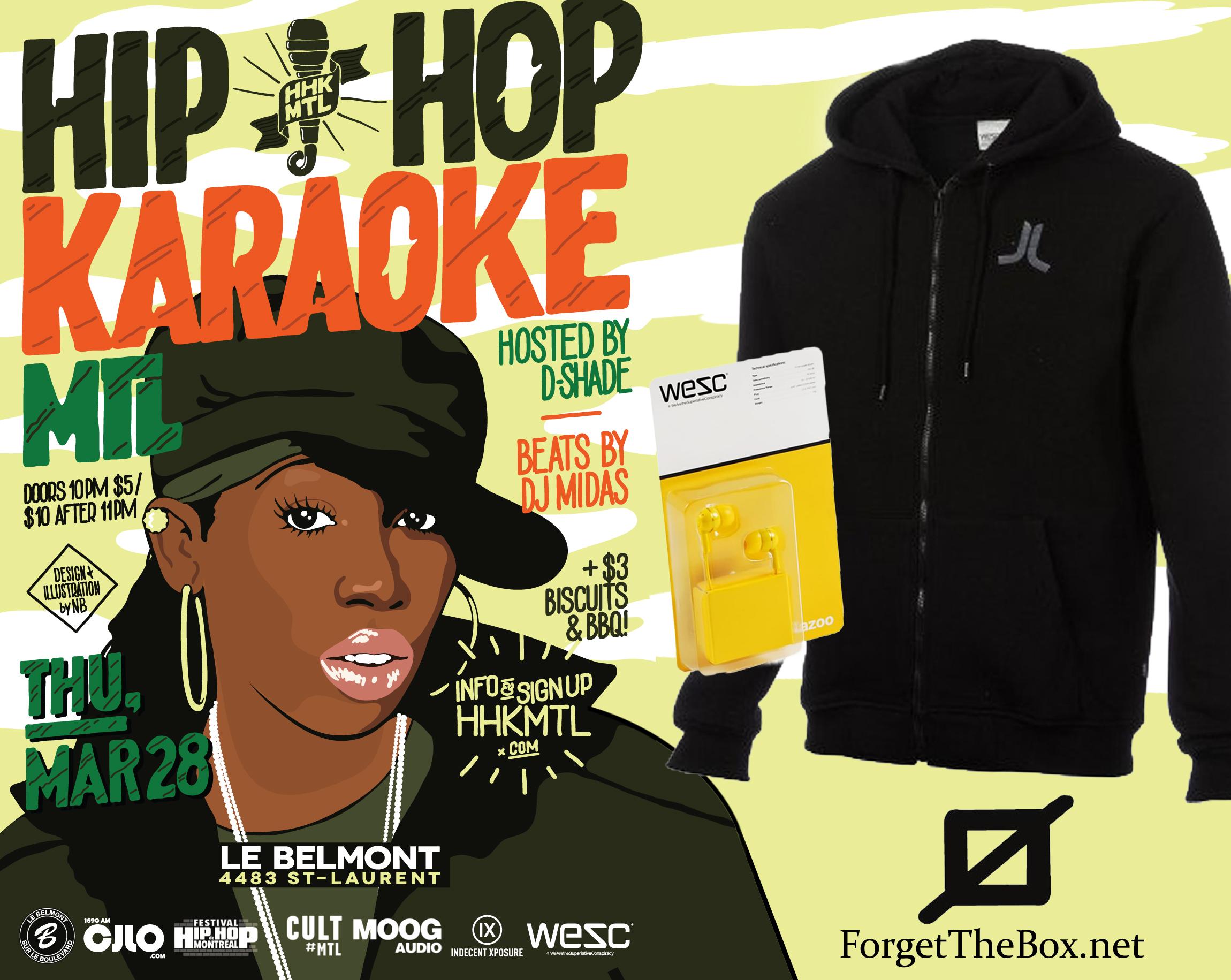 Hip Hop Karaoke giveaway