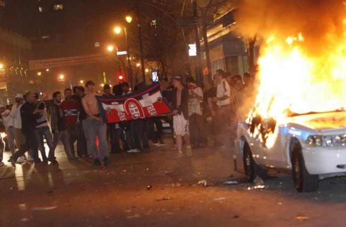 hockey riot montreal