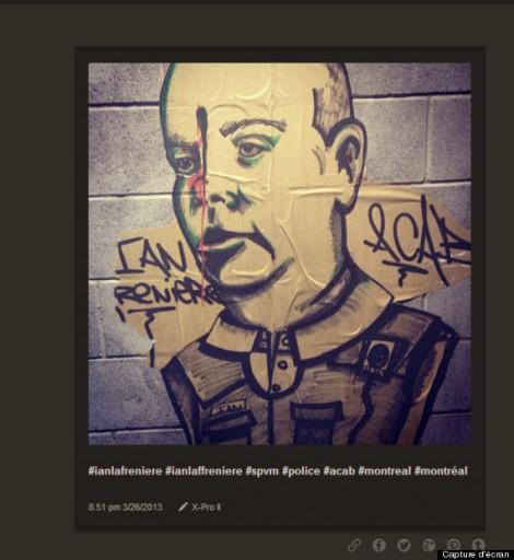 ian lafreniere graffiti