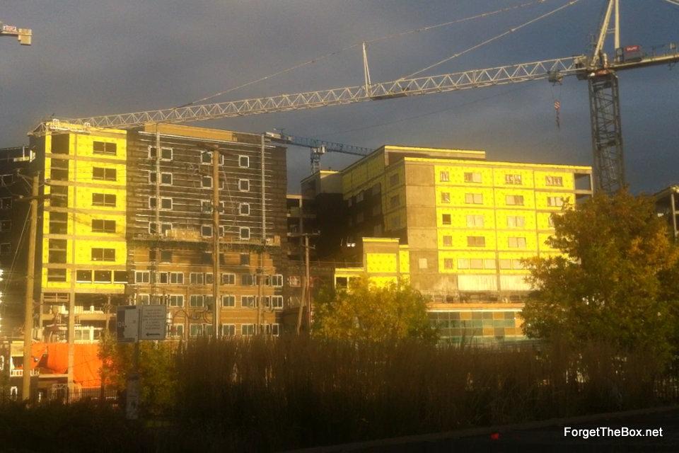 muhc hospital under construction