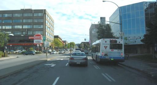 Cote des Neiges street in the Darlington district