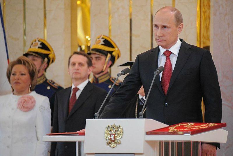 Vladimir Putin's 2012 Inaugguration