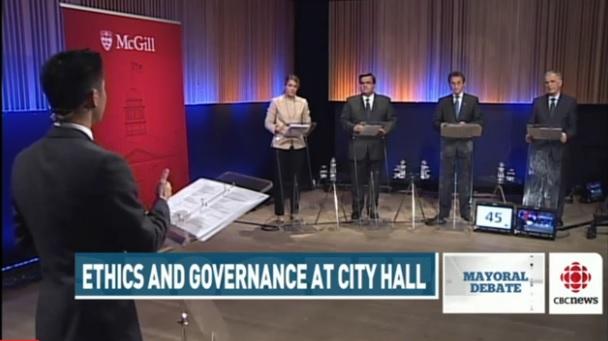 Montreal mayoral debate