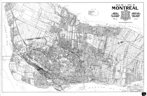 Montreal underground river map