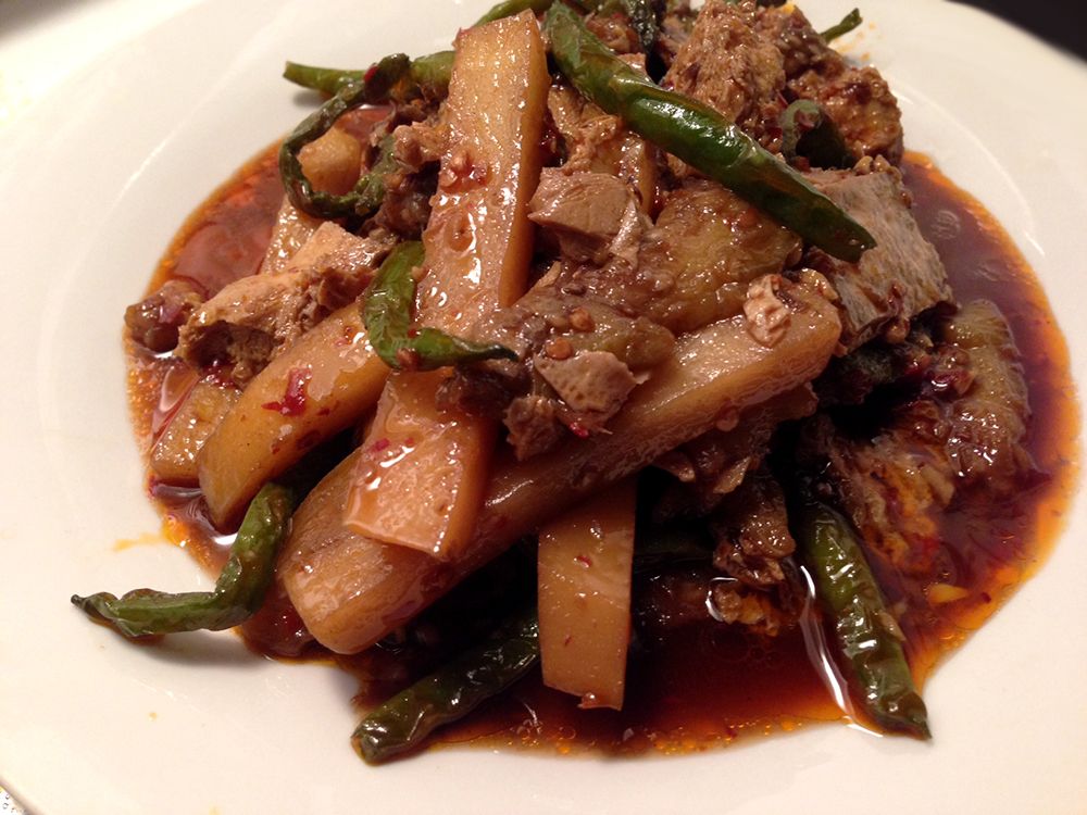 Vegetarian dish from Cuisine Szechuan