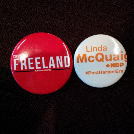 freeland mcquaig buttons