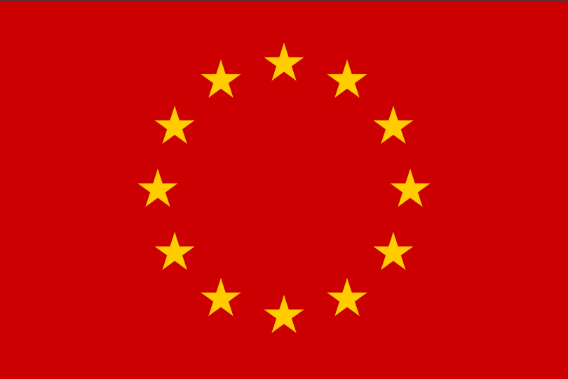 red european flag