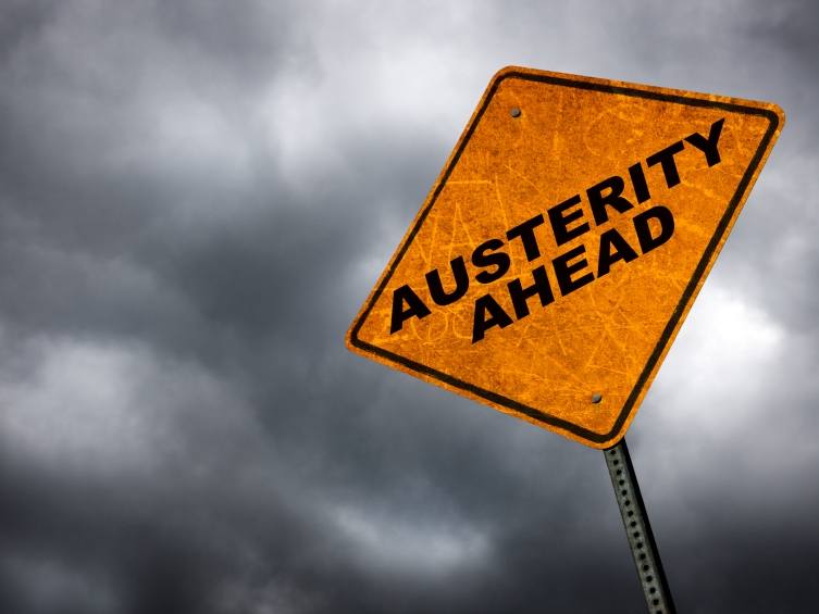 austerity sign