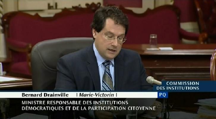 bernard drainville charter hearings