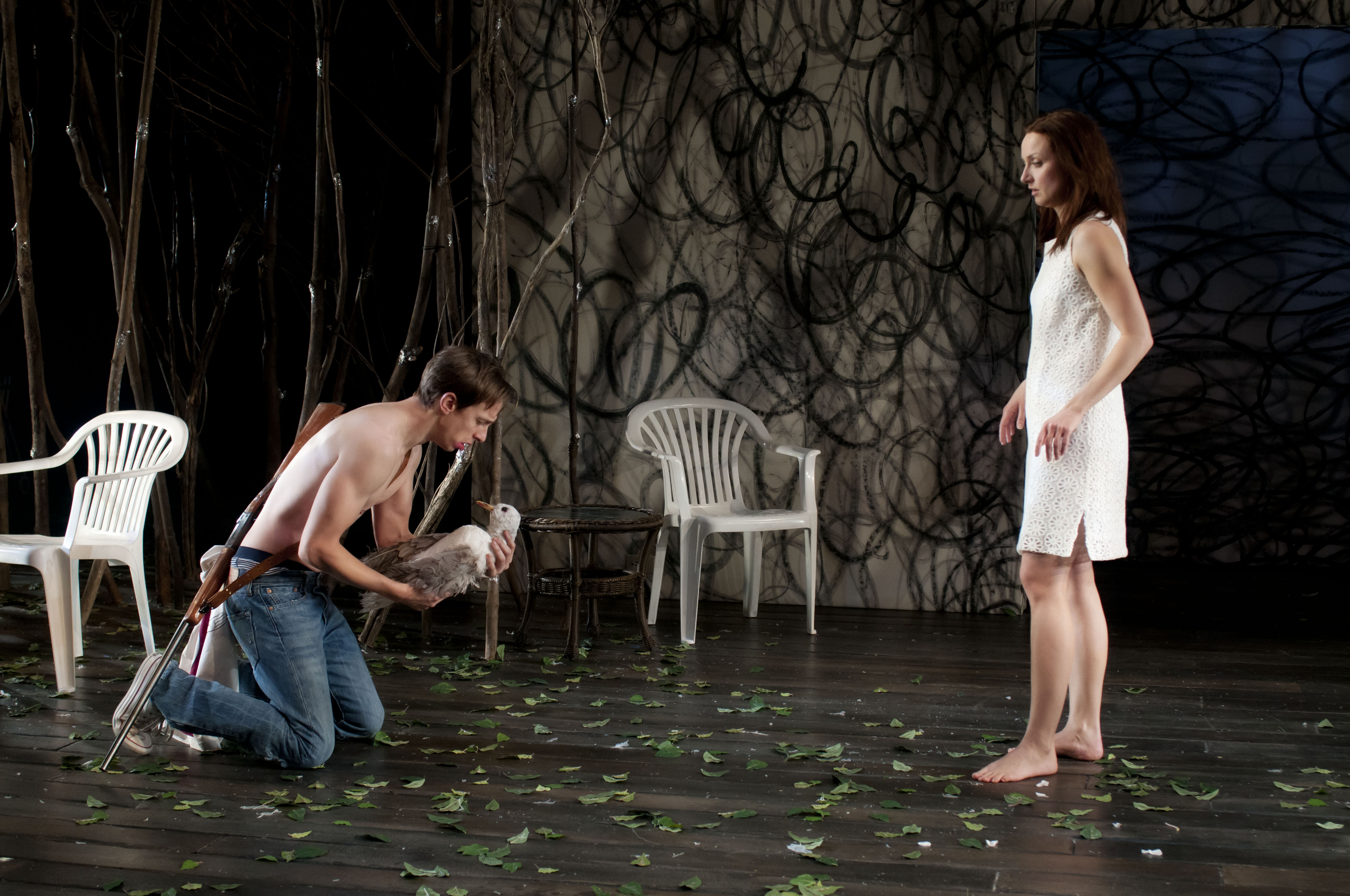 Patrick Costello (Constantine) - Shannon Currie (Nina)_Photo by AndrÇe Lanthier