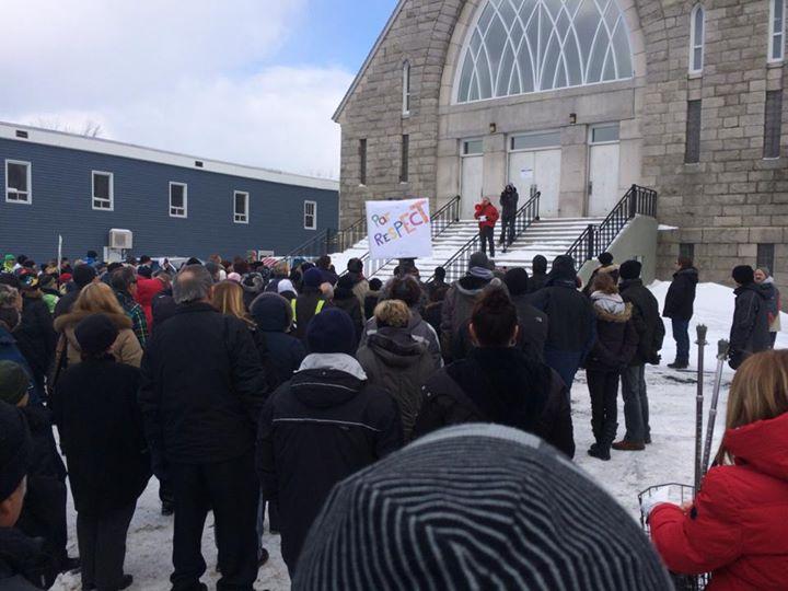 lac megantic protest 1