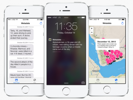 metadata drone app