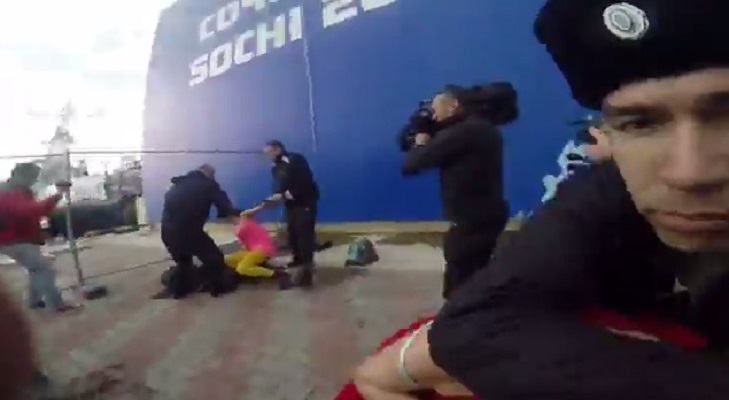 pussy riot beaten