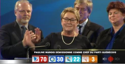 marois resigning