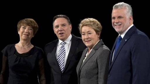 quebec leaders debate