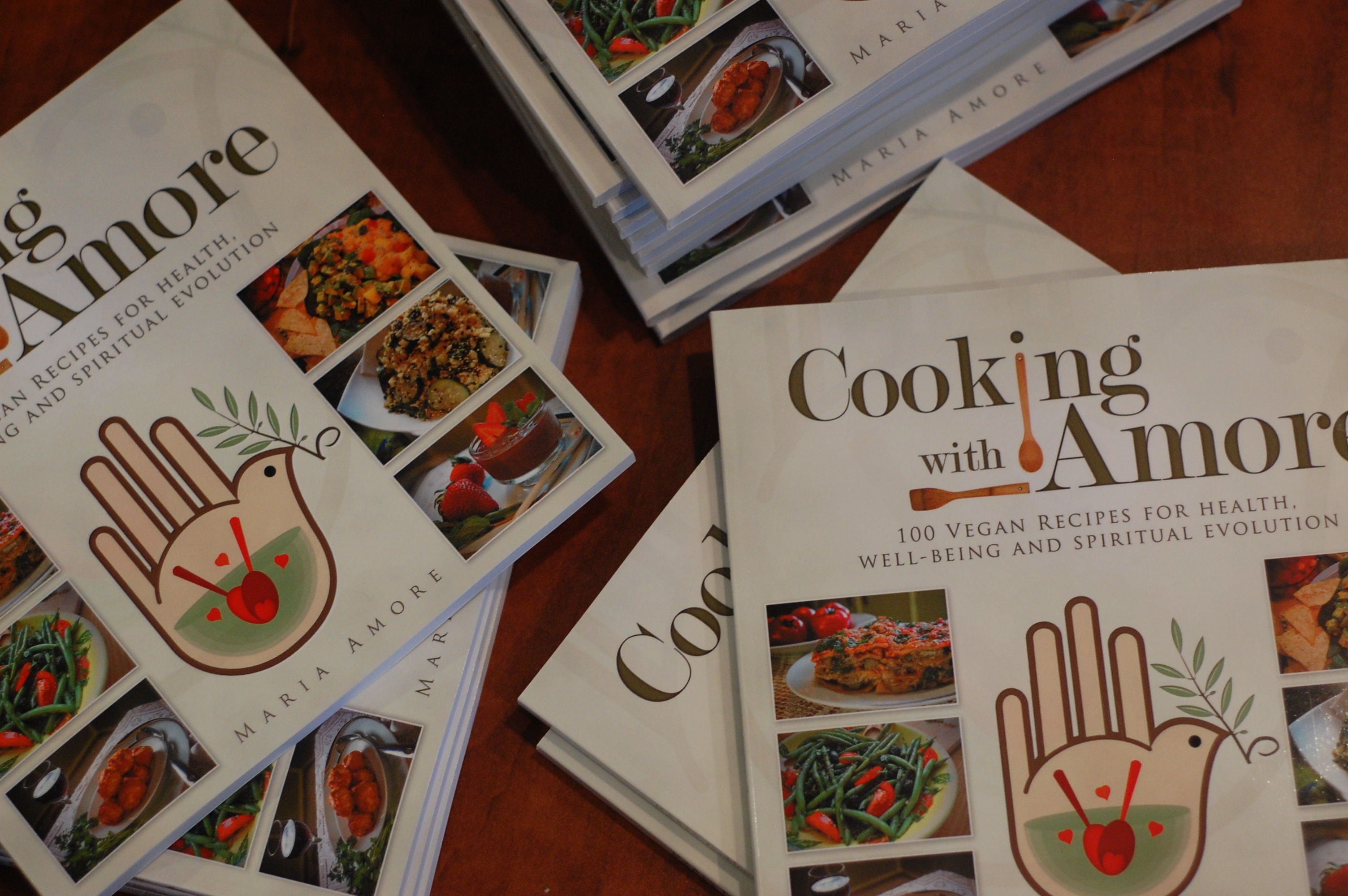 Amore's new cookbook