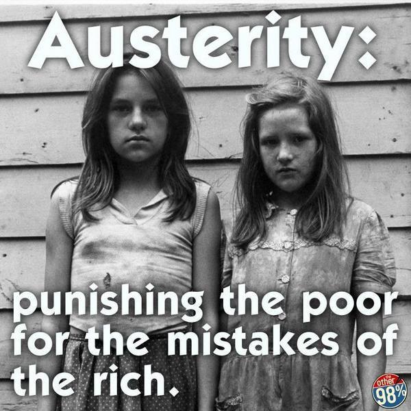 parasites demand austerity