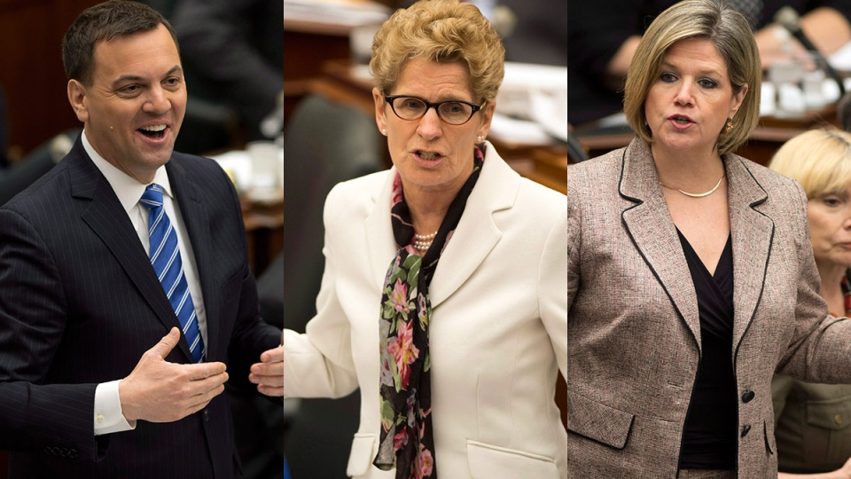 ontario election leaders