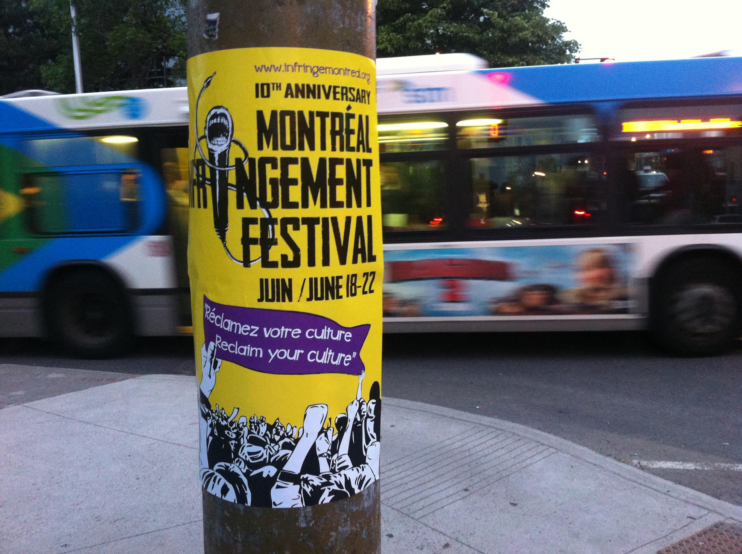 infringement festival 2014 poster