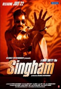 Singham 1 poster