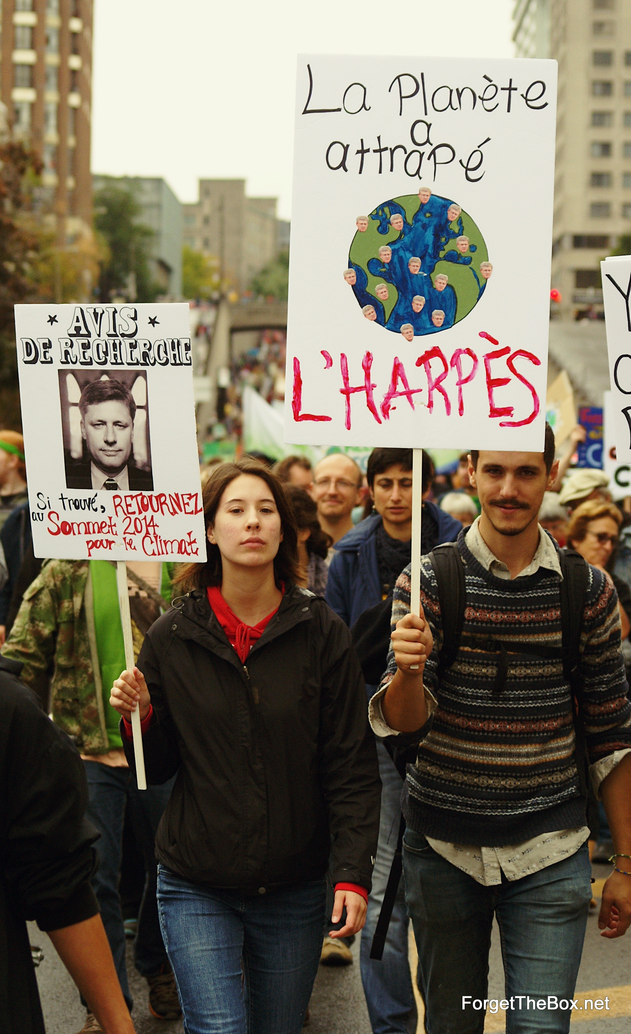 Climate Change March Montreal