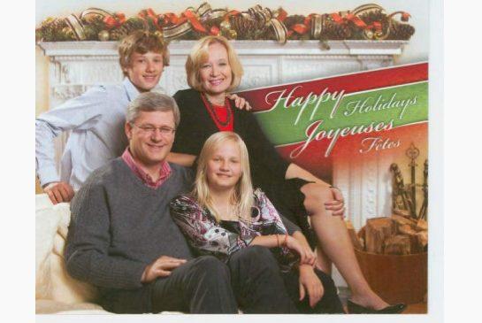 harper christmas card