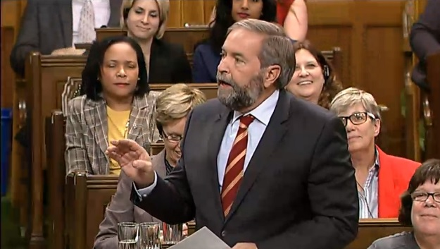 thomas mulcair in parliament