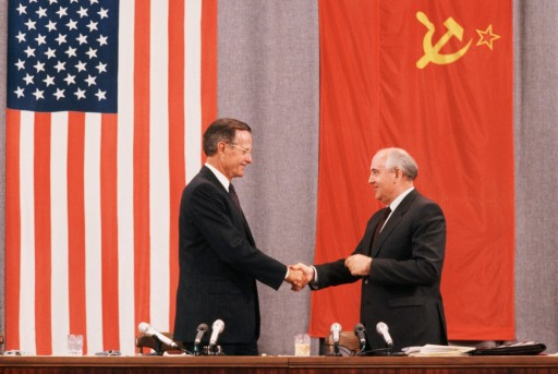 President Bush and President Gorbachev