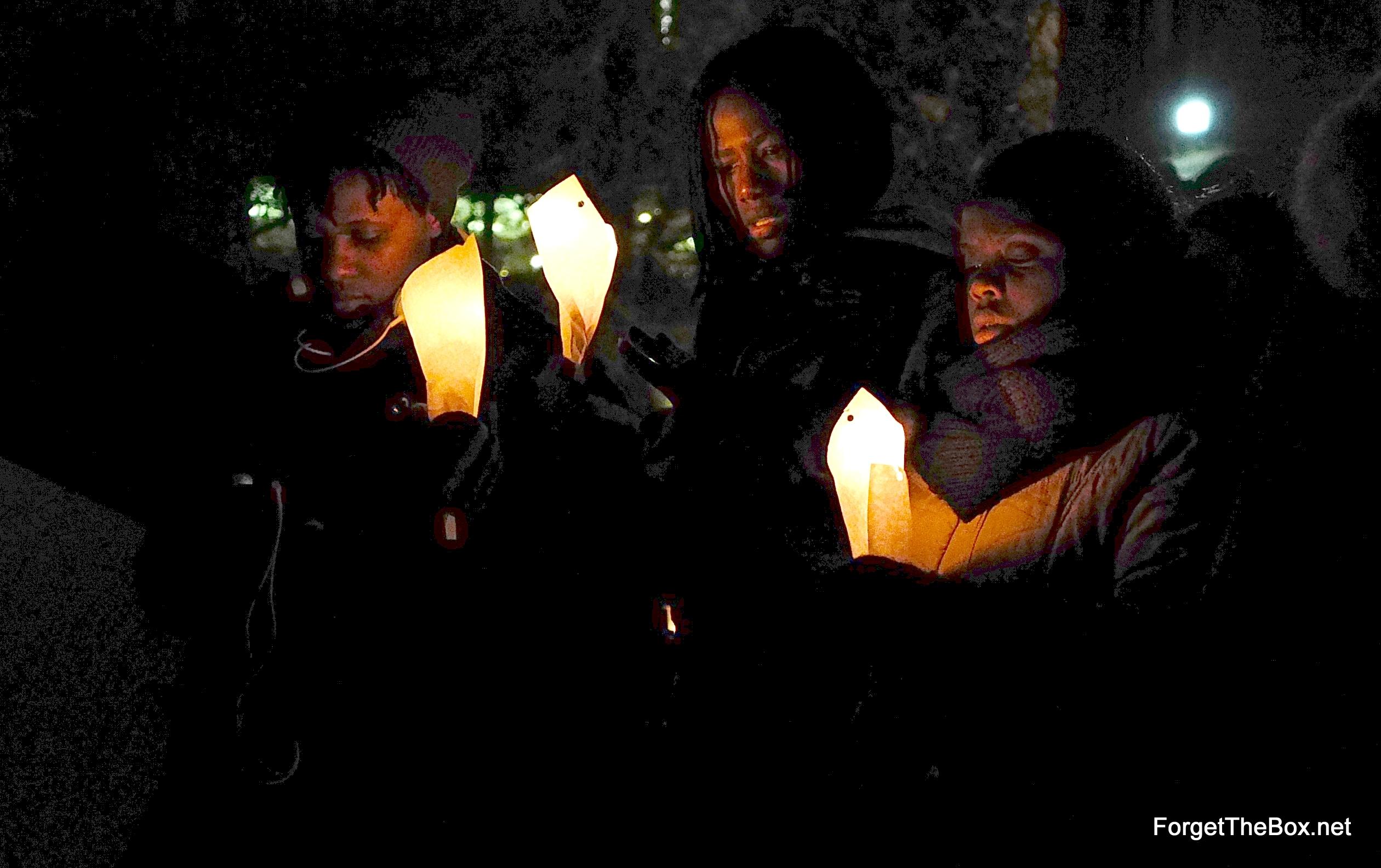 Montreal Vigil in Solidarity w