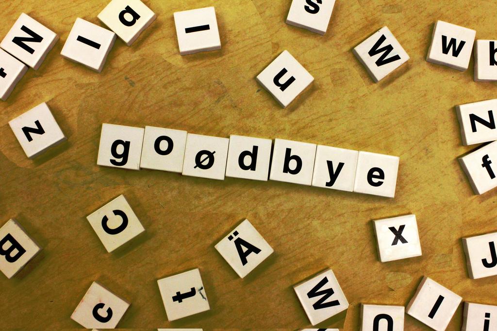 goodbye scrabble