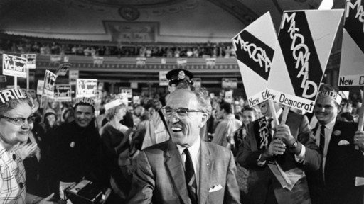 tommy douglas shaking hands