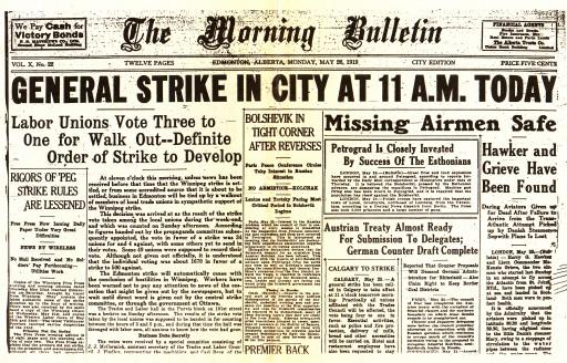 winnipeg strike