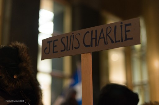 je suis charlie demo montreal
