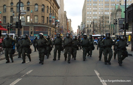 May Day Protests, Montreal, QC – Photo by Gerry Lauzon