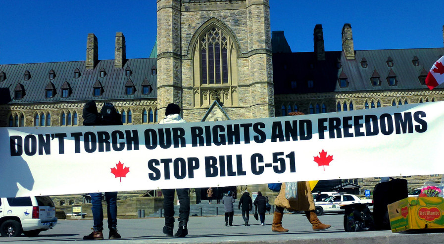 c51 protest parliament hill