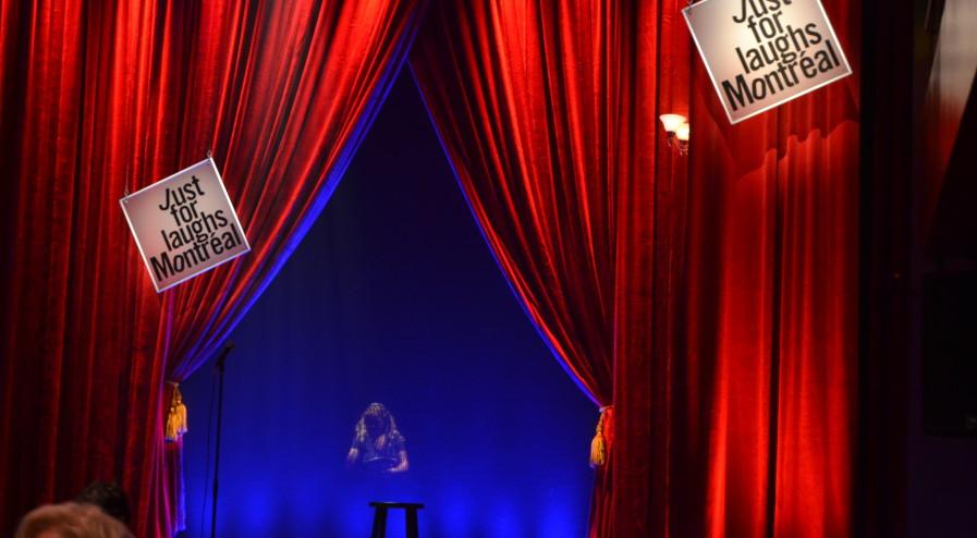 The stage at Club Soda, photo by Cem Ertekin. July 9, 2015.