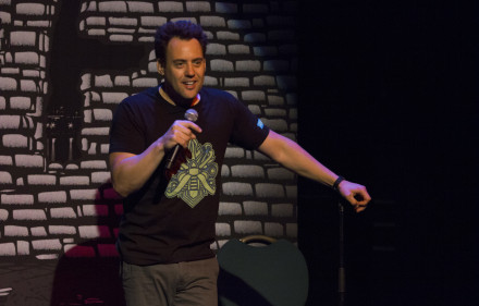 Orny Adams at Théâtre Saint-Catherine on July 17. Photo by Danny Belair