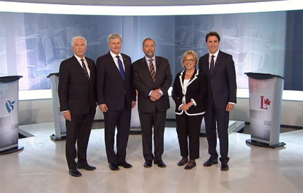 Debate-Elecciones-Canada-2015