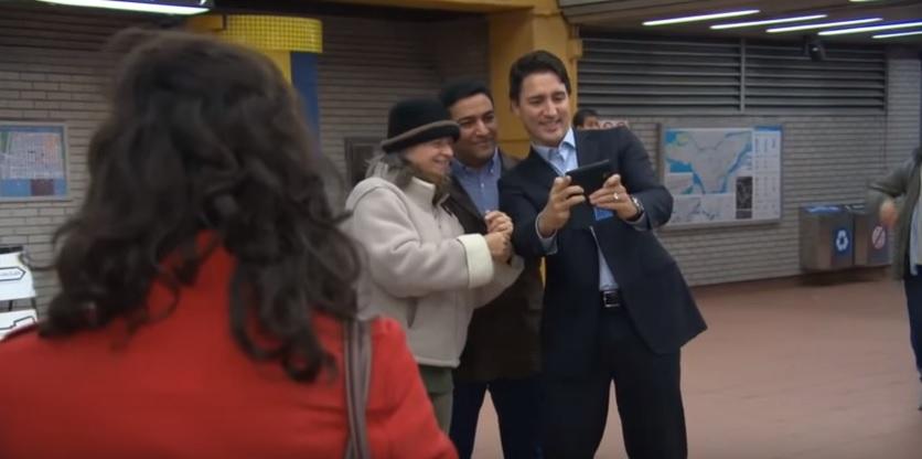 Justin Trudeau Jarry Metro 2