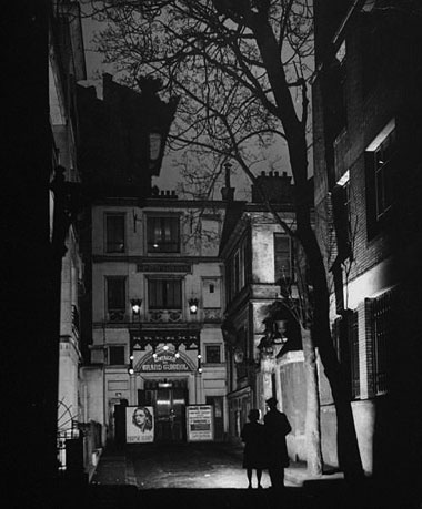 The original Theatre du Grand-Guignol in Paris
